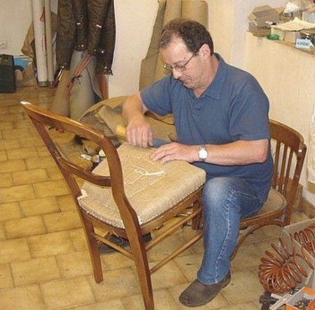 michel f vre un artiste tapissier ch tillon sur seine. Black Bedroom Furniture Sets. Home Design Ideas